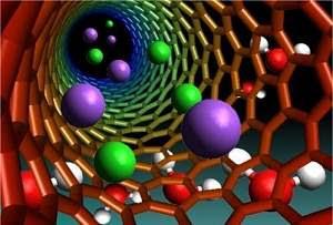 Membrana de nanotubos de carbono dessaliniza água do mar