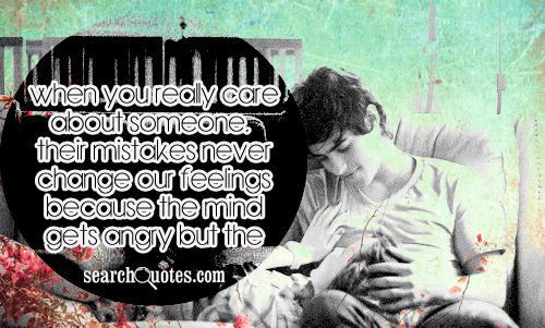 You Really Care About Someone Who Loves You Alot Quotes Quotations