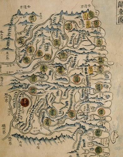 1736 ~ 1767 - Yeojido - Gwandongdo Full