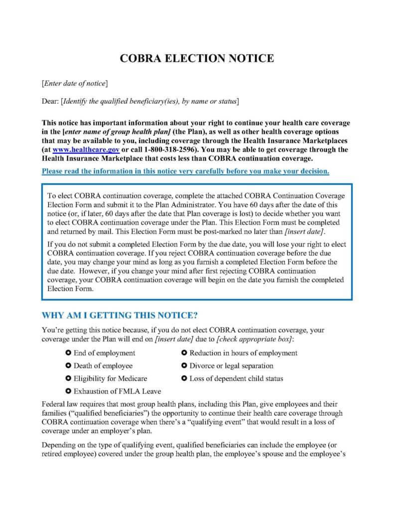 COBRA Compliance/State Continuation - Clarke Benefits