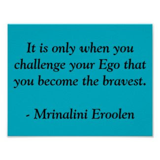 Brave Motivational Poster
