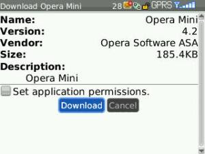 click Download to start downloading