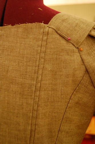 Making a robe a l'anglaise 36