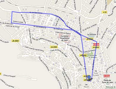 Mapa De Jaen Capital.Mapa De Jaen Capital Mapa