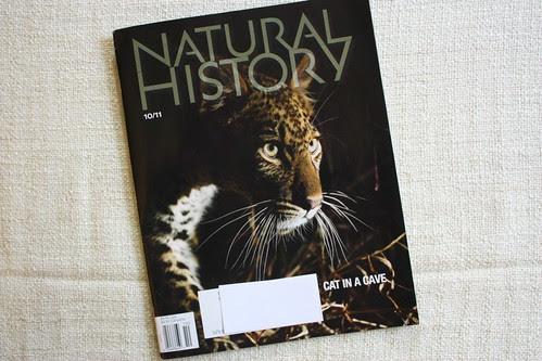 Natural History Mag 10/11