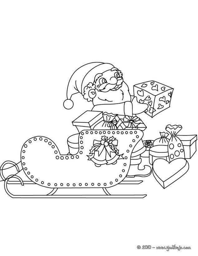 Trineo Navidad Para Colorear 10 Imágenes Navideñas Para Pintar E