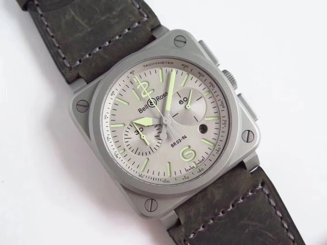 Replica Bell Ross Grey Watch