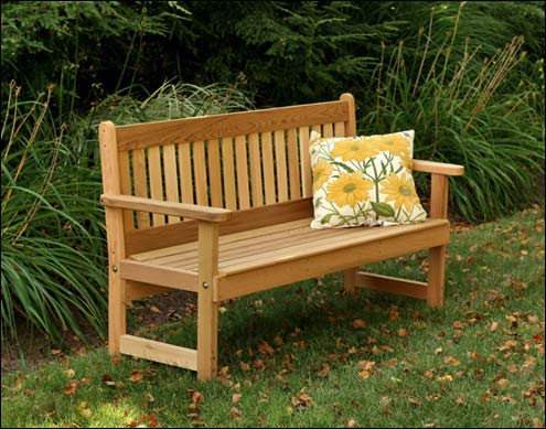 Wooden Garden Benches | Outdoor Benches - Fifthroom