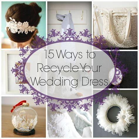 15 ways to Recycle your Wedding Dress   Wedding, Glitter