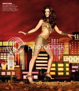 Kate Beckinsale Absolut Vodka Ad Campaign