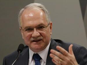 Luis Edson Fachin, durante sabatina na CCJ do Senado (Foto: Joel Rodrigues/Frame/Estadão Conteúdo)