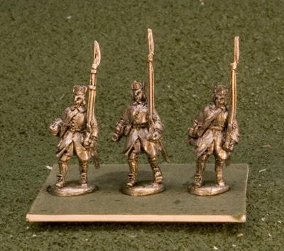 15GNR102 Musketeers, Pokalem marching