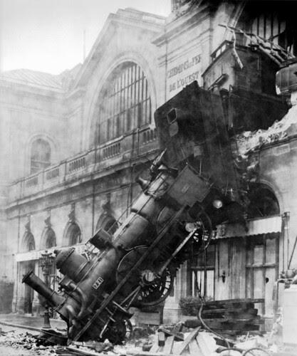Train Crash at Montparnasse 1895