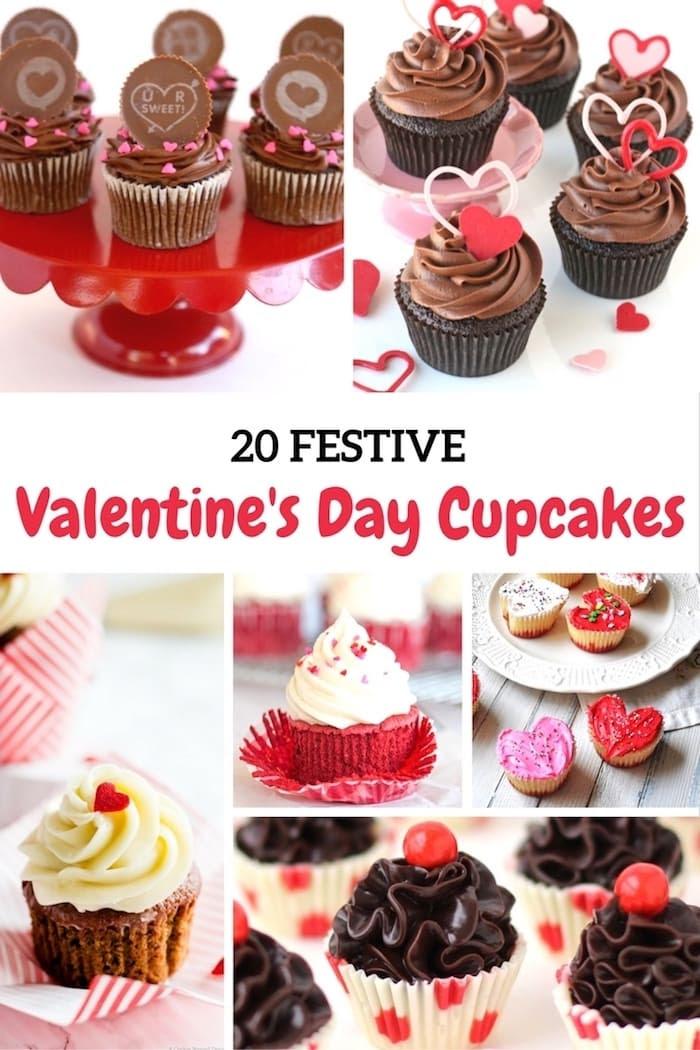 Shabbyfufu Valentine's Day Cupcakes