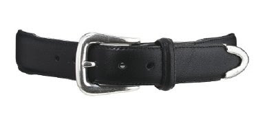 Red Wing 96521 - 1-1/4-inch Black Belt w/ Tipped End
