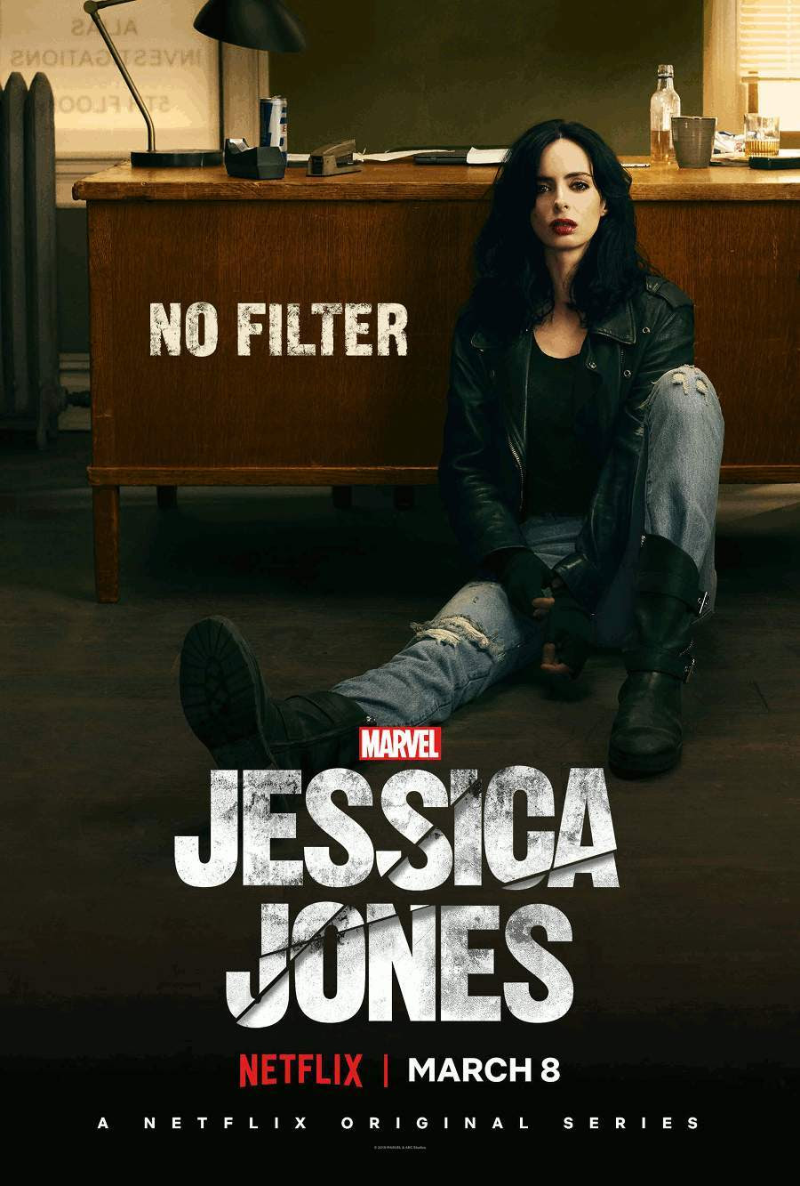 Resultado de imagen de jessica jones poster season 2