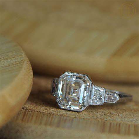 What is an Asscher Cut Diamond?   The Definitive Guide