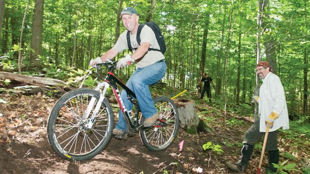 DMBA blazes new trails in Dagmar and Durham Forest