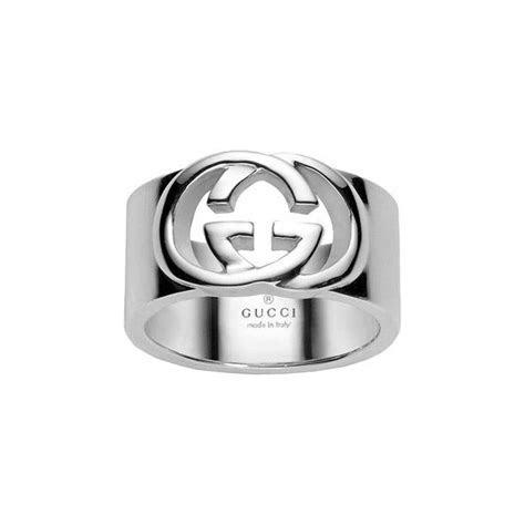 Silver Gucci Britt Ring YBC190482001   Market Cross Jewellers