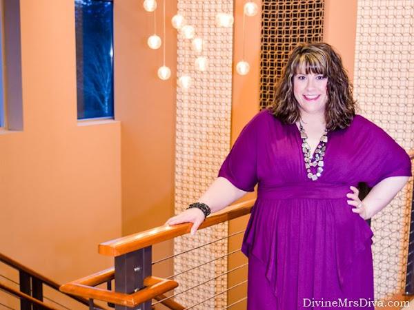 Reviewing Kiyonna's Indie Flair Maxi Dress