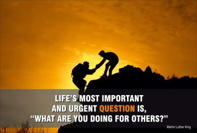 Alterego Posters What Are You Doing For Others Martin Luther King