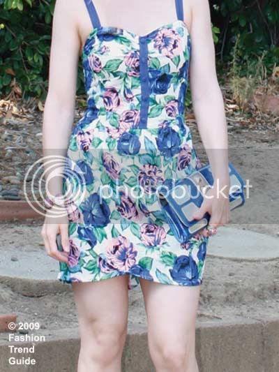 Motel floral dress