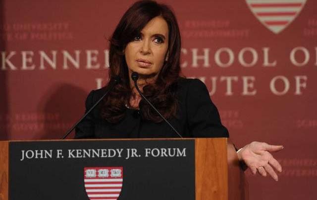 Denunciarán a Cristina ante el Inadi por dichos sobre La Matanza en Harvard