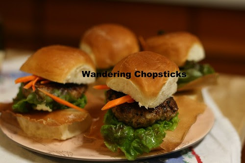 Nem Nuong (Vietnamese Grilled Pork Patty) Sliders 12