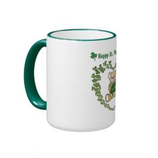 St. Patrick's Day Bear Mug mug