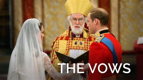 The Royal Wedding Vows   YouTube