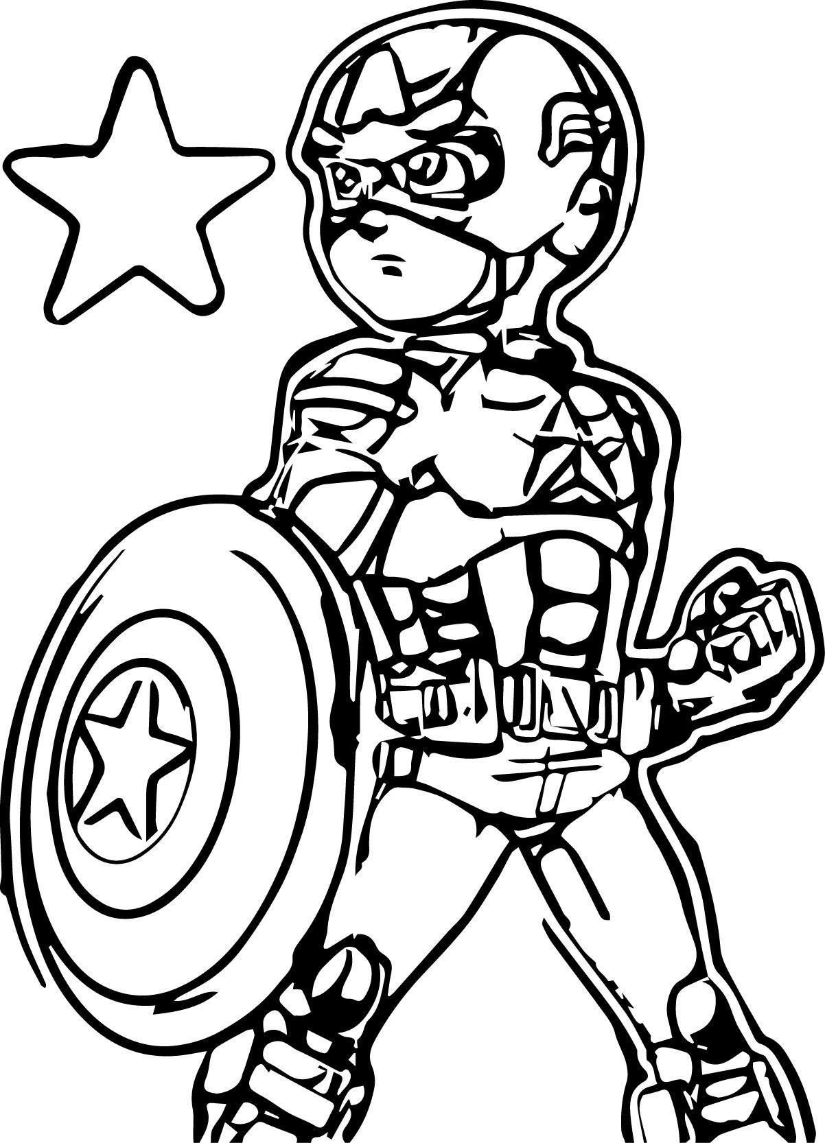 Nouveau Coloriage Captain America Lego | Imprimer et ...