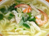 Pansit Miki Soup