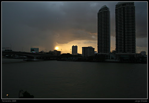 Bangkok sunset