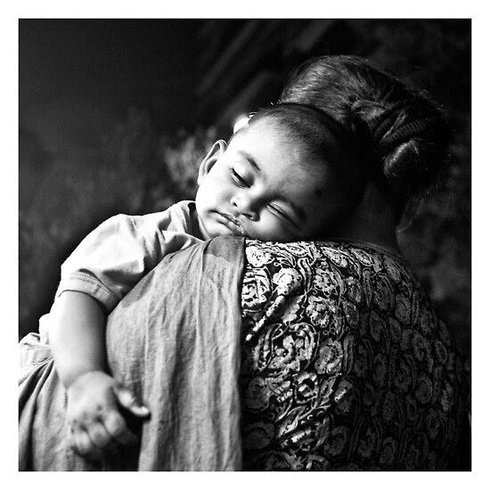 Street Photography: Sleep Little Boy by StamatisGR