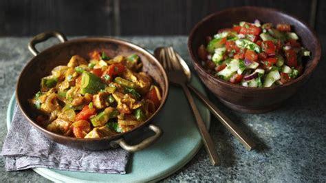 healthy chicken curry recipe bbc food