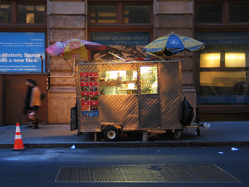 Vendor, Spring Street, NYC