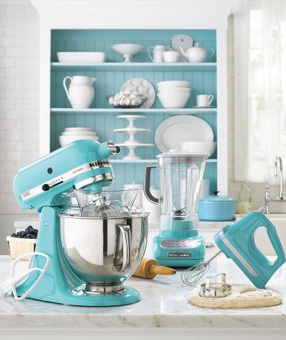 kitchenaid blue