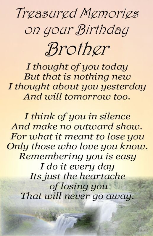 In Memory Of My Brother Quote Quote Number 576989 Picture Quotes
