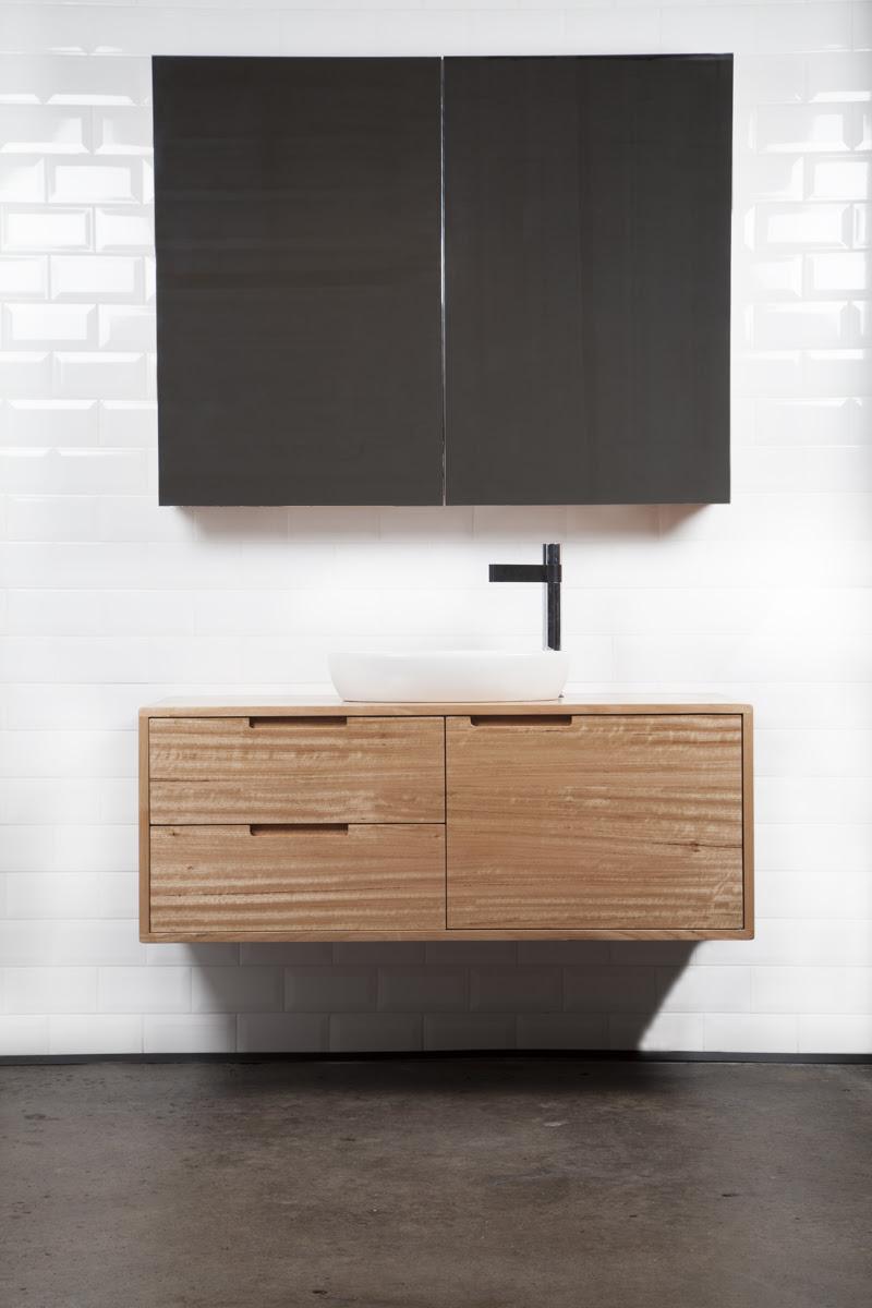 Styx Bathroom Vanity Reclaimed Tasmanian Oak Ingrain