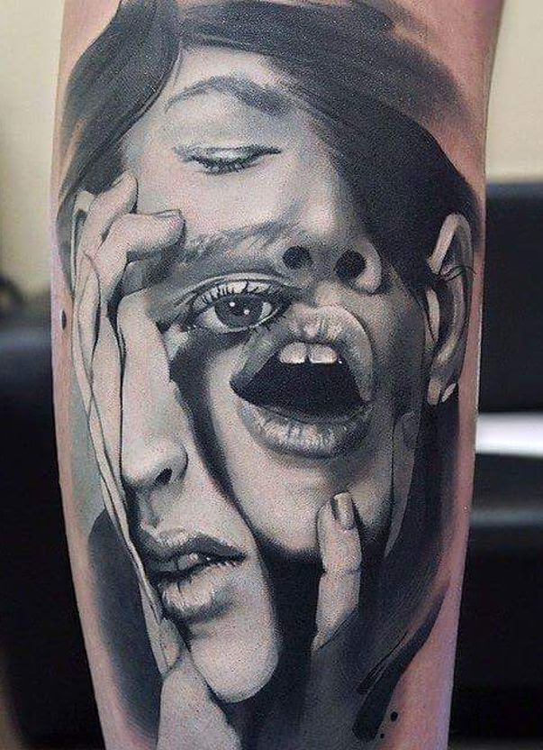 Twarze Tattoo