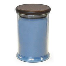 Ocean Blue Scent Battery Operated Jar Candle