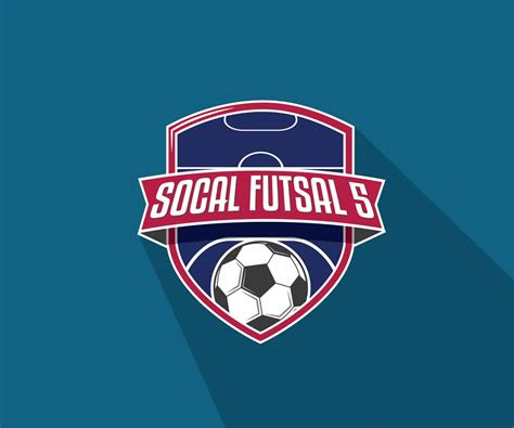 logo design  socal futsal   ray gunn design