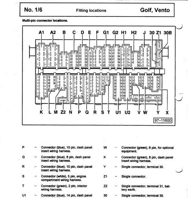 Vw Polo 1999 Fuse Box Diagram