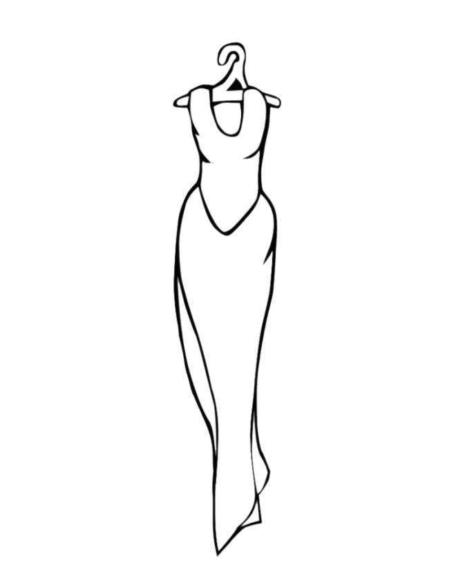 Vestiti Da Disegnare E Colorare Vestiti Da Disegnare Facili