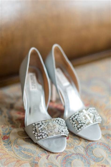 20 Glam Silver Wedding Shoes That WOW!   Deer Pearl Flowers