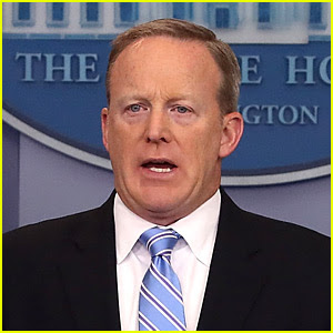 Sean Spicer's 'DWTS' Rumors Addressed in White House Press Briefing (Video)