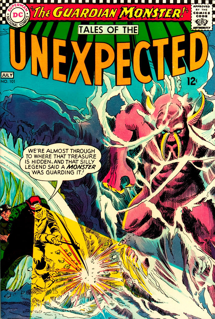 Tales of the Unexpected #101 (DC, 1967) George Roussos cover