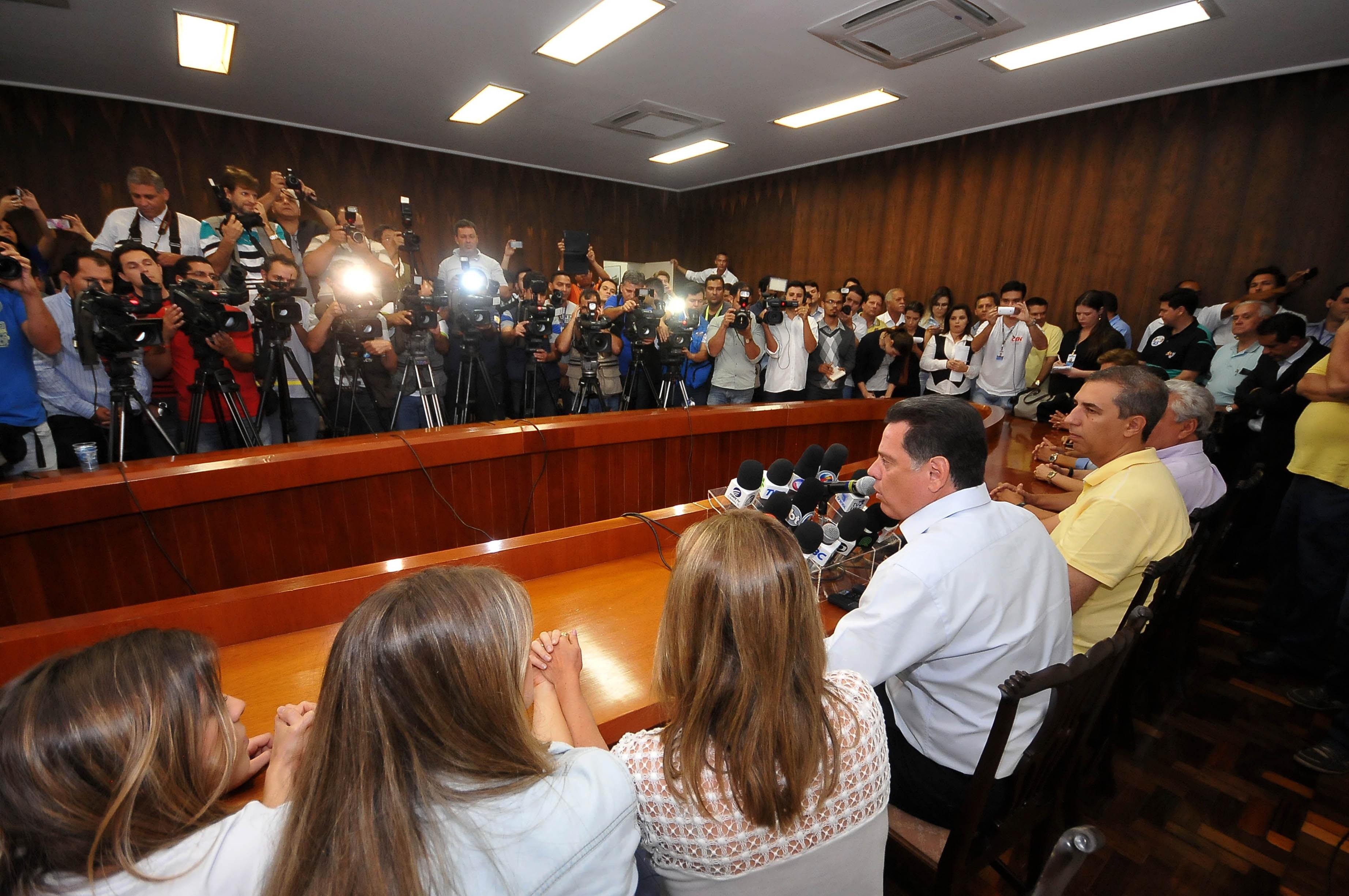 Marconi Perillo é reeleito para o seu quarto mandato em Goiás