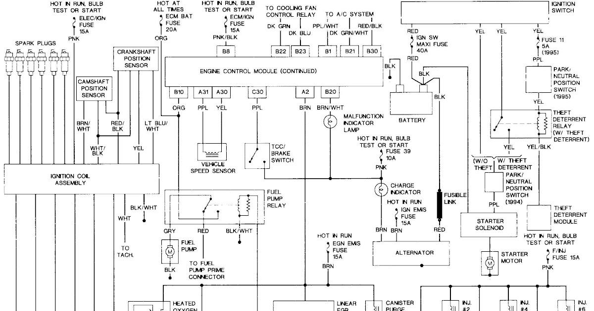 1993 Buick Park Avenue Engine Diagram