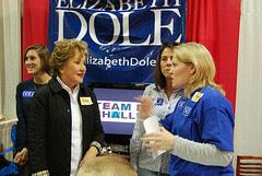 NC State Fair: Elizabeth Dole